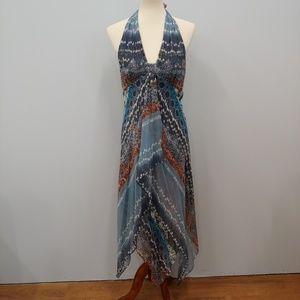 Adrianna PAPELL Silk Halter Dress Size 8